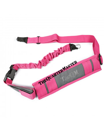 1-2 Point Sling Version 2 Grey with Pink Trim