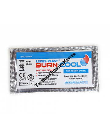 Burn Gel 3.5ml Sachet (Pack of 10)