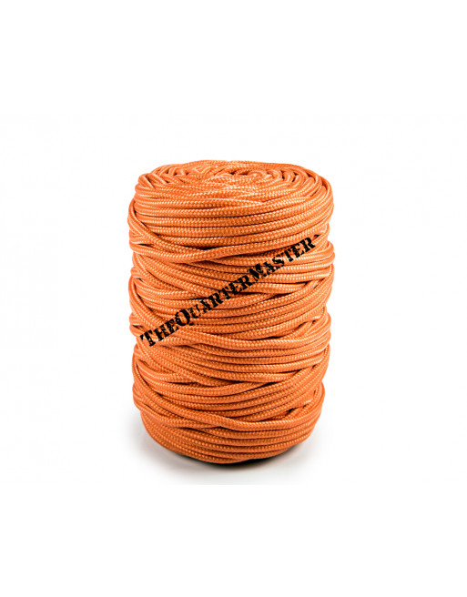 PP Round Braid 5mm x 100m Orange