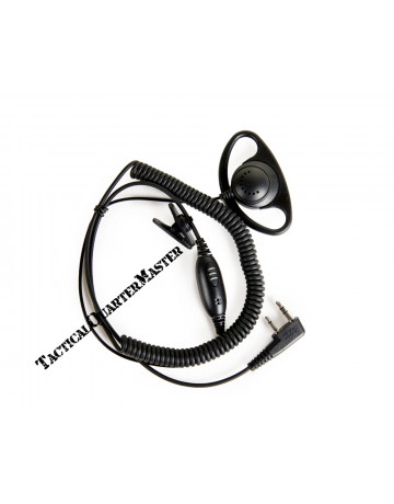 D Type Ear Piece With Mic-TK2107
