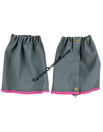 Ankle Gaiters : Grey Pink