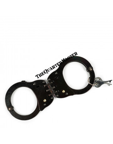 Handcuff: Hinged Black Oxide