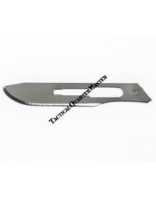 Scalpel Blades/ Surgical Blades No 21 (Pack of 50)