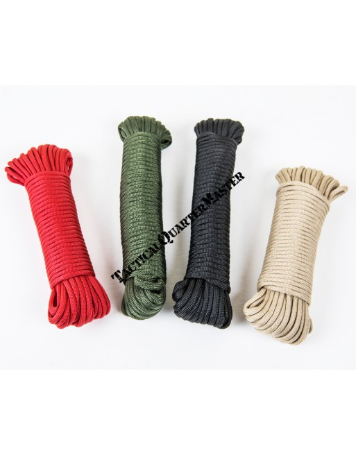 550 Paracord: Red 15m
