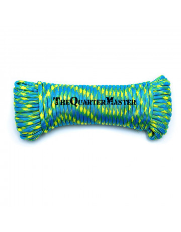 550 Paracord 15m - Blue & Yellow