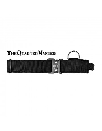 Canine 50mm Web Collar with Handle: Large