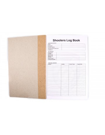 Sports Adventure shooting Log Book