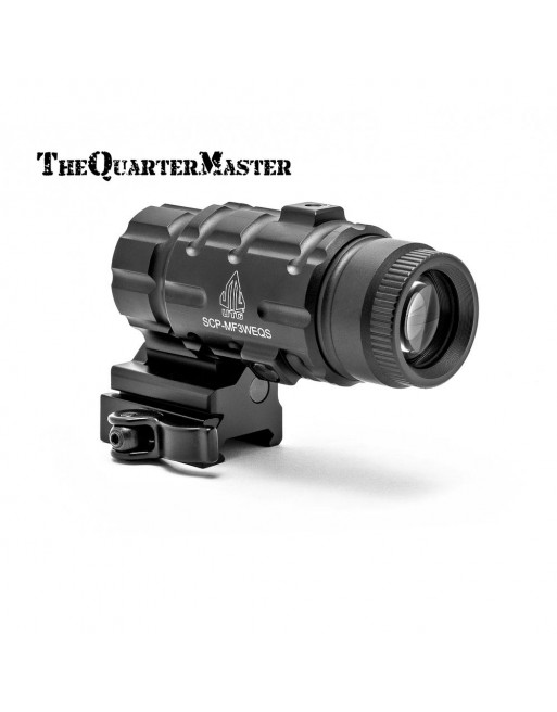 UTG Sporting Type Adjustable 3X Magnifier