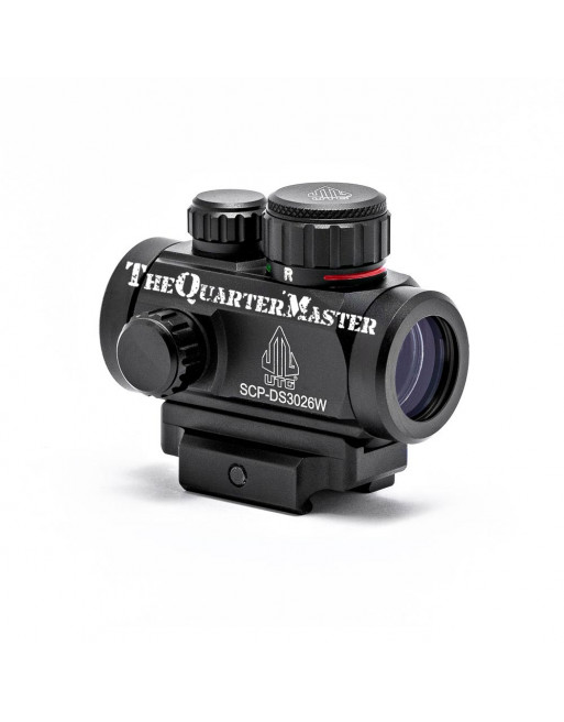 """UTG Sporting Type 2.6"""" Red/Green Micro Dot with Integral QD Mount"""