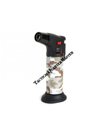 Hyper Flame Gas Torch ZT50 with Refill : Kalahari Camouflage Pattern.