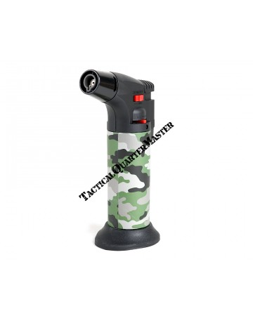 Hyper Flame Gas Torch ZT50 with Refill : Leaf Camouflage Pattern.