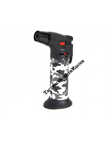 Hyper Flame Gas Torch ZT50 with Refill : Night Camouflage Pattern.