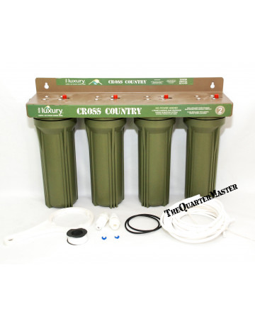 4 Stage Water Filtration System