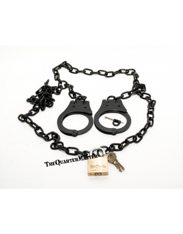 Republic Arms Model 76 Belly Chain Handcuffs