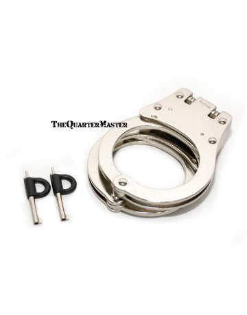 Republic Arms Handcuffs Nickel Plated: Model 65