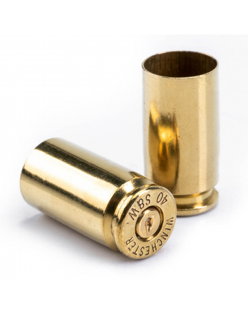 Bushveldt 40 S&W Brass Used and Polished -Pack of 100