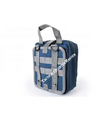 Bushveldt Individual First Aid Kit Molle Bag-Blue & Grey
