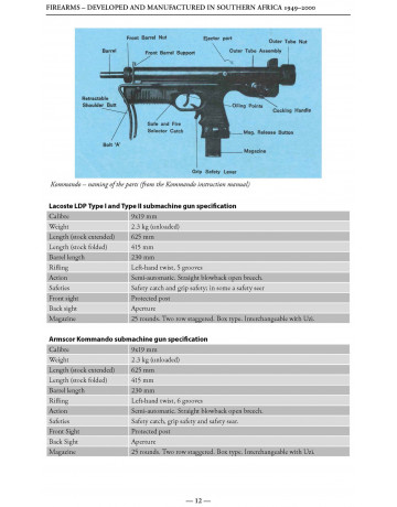 Book: Firearms Developed & Manufactured in Southern Africa 1949-2000 Signed by contributors. 1st Edition