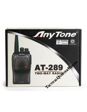 Anytone AT289 UHF Hand Held Radio
