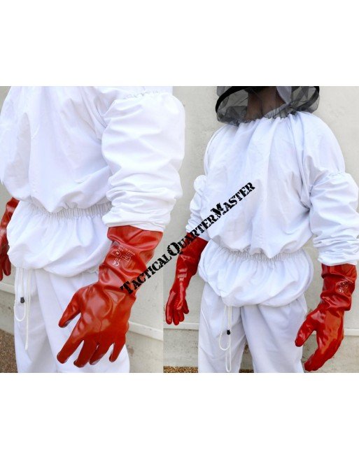 BeeKeeper Suit: Hood, Veil, Jacket, Trousers and Gloves Small