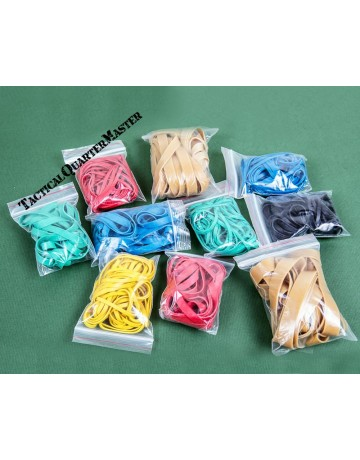 Bushveldt Bands Of Rubbers: Assorted Colour & Size Rubber Bands