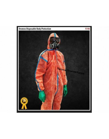 Dromex F318 Nuclear Coverall X-Large
