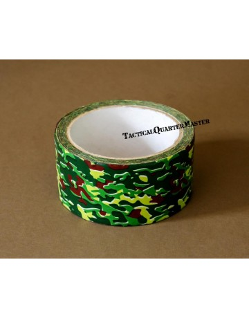 Green & Brown Camouflage Duct Tape