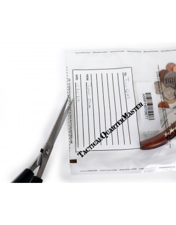 Tamper Proof Evidence Bags A5 - Pack of 10