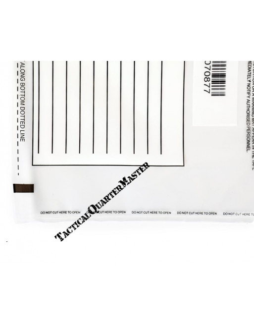 Tamper Proof Evidence Bags A4 - Pack of 10