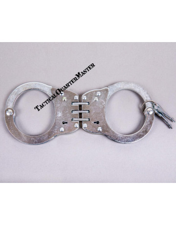 Handcuff: Hinged Chromed