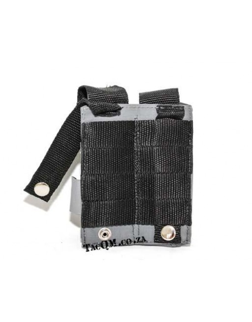 Adjustable Double Mag Pouch Large Pistol - Grey