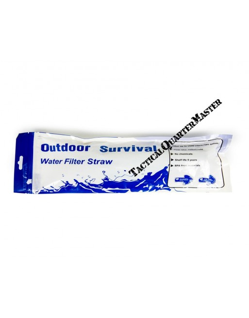 Outdoor Survival Water Filter Straw