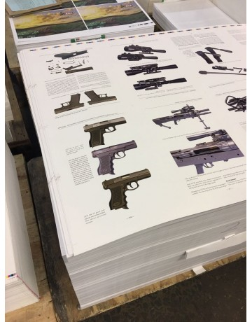 Book: Firearms Developed & Manufactured in Southern Africa 1949-2000 Signed by contributors. 2nd Impression April 2017