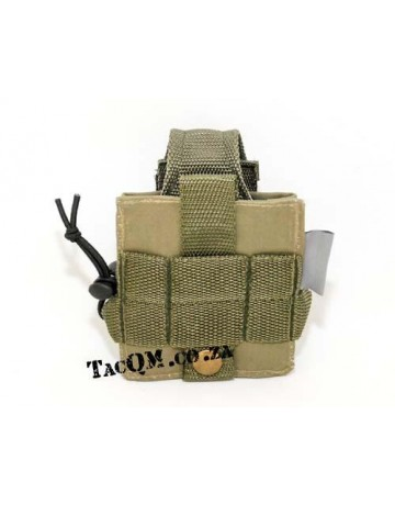 Hand Held Radio Pouch-Green