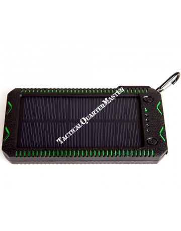 Survival Solar Power Bank with Flash Light