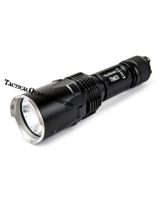 Nitecore TM03 Torch with Batteries and D2 Charger