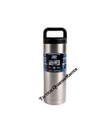 Thermosteel Wide Mouth Vacuum Flask: 530ml