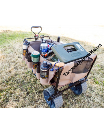 Load Bay Protector with Pockets for the The Mule: Heavy Duty Trolley Green