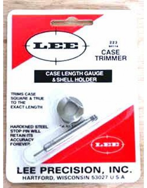 Lee Case Length Gauge and Shell Holder - 223REM