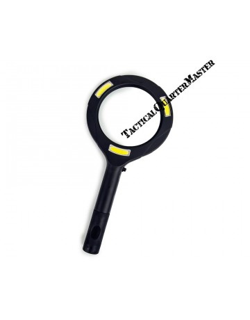 Illuminated Handheld Magnifier 80mm